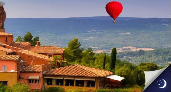 Vol privatisé en Provence avec 1 nuit en chambre d'hôtes