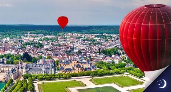 Vol en Île-de-France avec 1 nuit en chambre d'hôtes