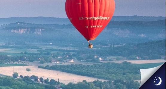 Vol en Dordogne avec 1 nuit en hôtel 3* en 1/2 pension