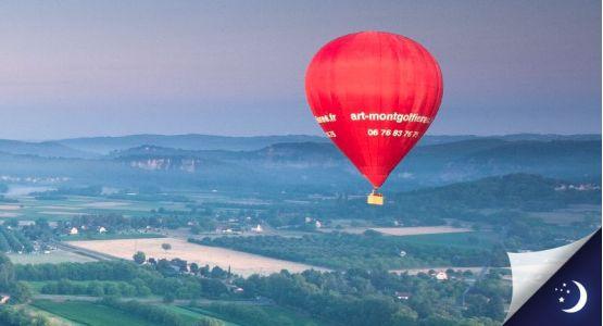 Vol privatisé en Dordogne avec 1 nuit en chambre d'hôtes