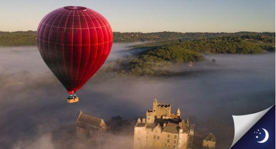 Vol privatisé en Dordogne avec 1 nuit en hôtel 2* en 1/2 pension