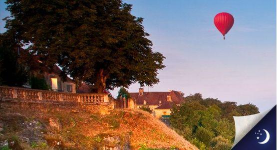Vol privatisé en Dordogne avec 1 nuit en hôtel 3* en 1/2 pension