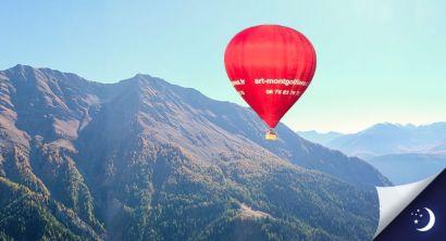 Vol Mont-Blanc coté Italie avec 1 nuit en hôtel 2* en 1/2 pension