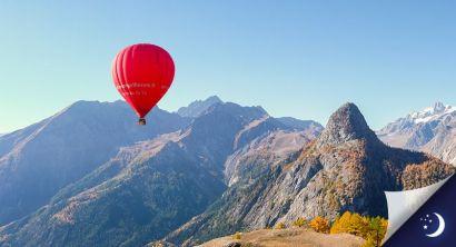 Vol Mont-Blanc coté Italie avec 1 nuit en hôtel 3* en 1/2 pension
