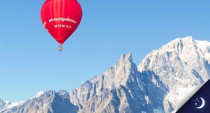 Vol Mont-Blanc coté Italie avec 1 nuit en hôtel 4* en 1/2 pension