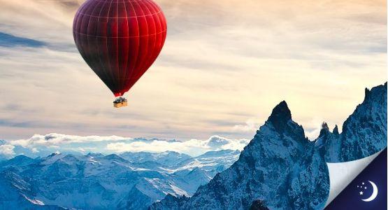 Vol privatisé Mont-Blanc coté Italie avec 1 nuit en hôtel 4* en 1/2 pension