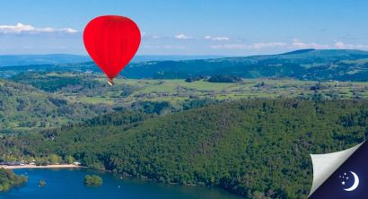Flight in Auvergne with 1 night in a 2* hotel with half-board