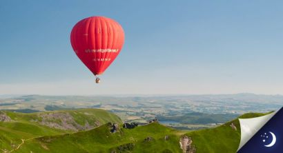 Flight in Auvergne with 1 night in a 3* hotel with half-board