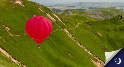 Flight in Auvergne with 1 night in a 4* hotel with half-board