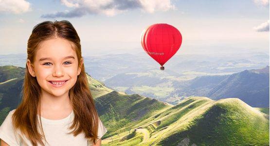 Billet enfant Auvergne