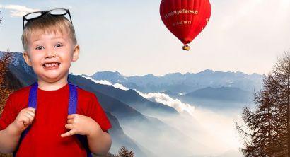 Billet enfant Mont Blanc coté Italie