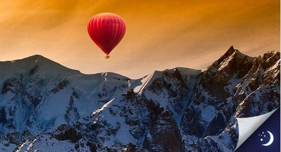 Vol privatisé Mont-Blanc coté Italie avec 1 nuit en chambre d'hôtes