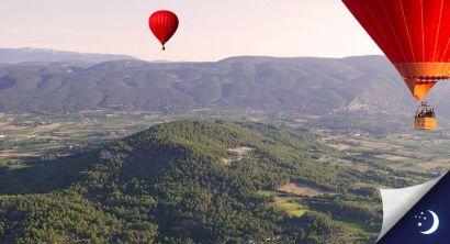 Vol en Provence avec 1 nuit en hôtel 3* en 1/2 pension