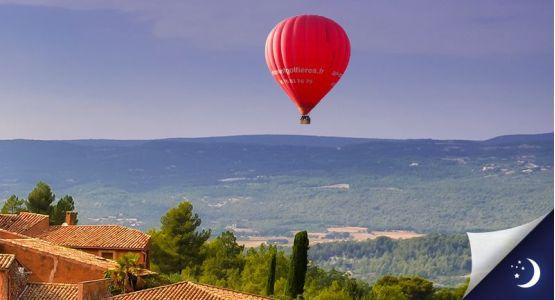 Vol en Provence avec 1 nuit en hôtel 4* en 1/2 pension