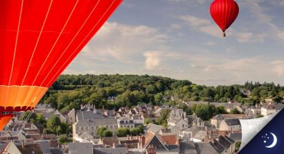 Flight in Touraine with 1 night in a 3* hotel with half-board