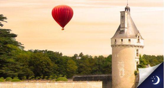 Vol privatisé en Touraine avec 1 nuit en hôtel 2* en 1/2 pension