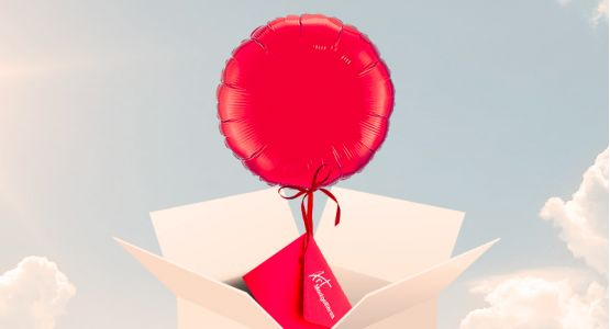 Delivery round balloon