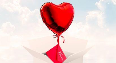Livraison ballon cœur