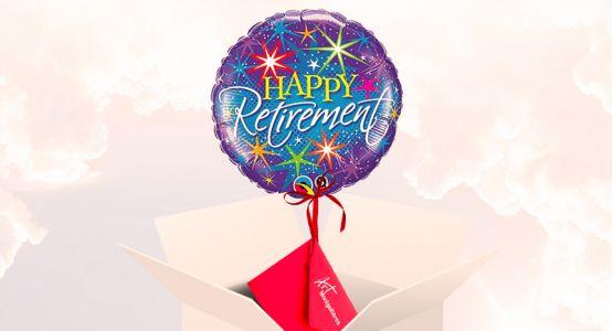 Entrega balón Happy retirement