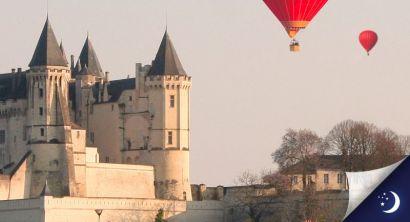 Vol privatisé en Anjou avec 1 nuit en hôtel 2* en 1/2 pension