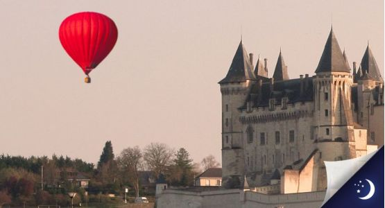 Vol privatisé en Anjou avec 1 nuit en hôtel 4* en 1/2 pension