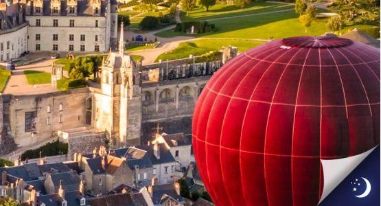 Vol privatisé en Touraine avec 1 nuit en chambre d'hôtes