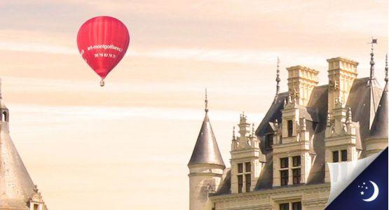 Vol privatisé en Touraine avec 1 nuit en hôtel 4* en 1/2 pension