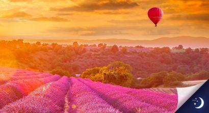 Vol en Provence avec 1 nuit en chambre d'hôtes