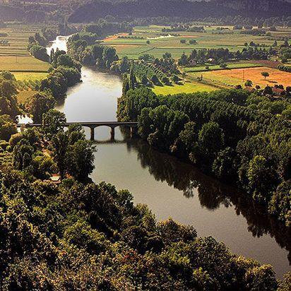 Dordogne vue du ciel